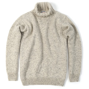 Nansen High Neck, Grey Melange