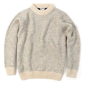 Nansen Crew Neck, Grey / Anthracite / Off White
