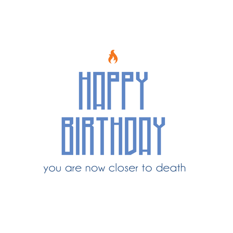 Happy Birthday (sticker)