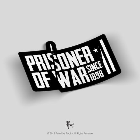 Prisoner of War (sticker)