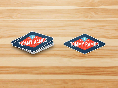 Tommy Ramos Sticker