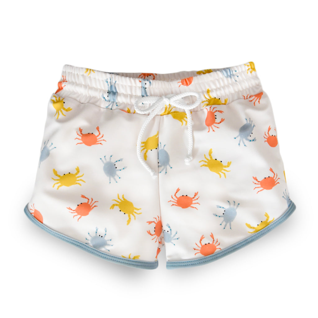 Sand Crabs Drawstring Trunks