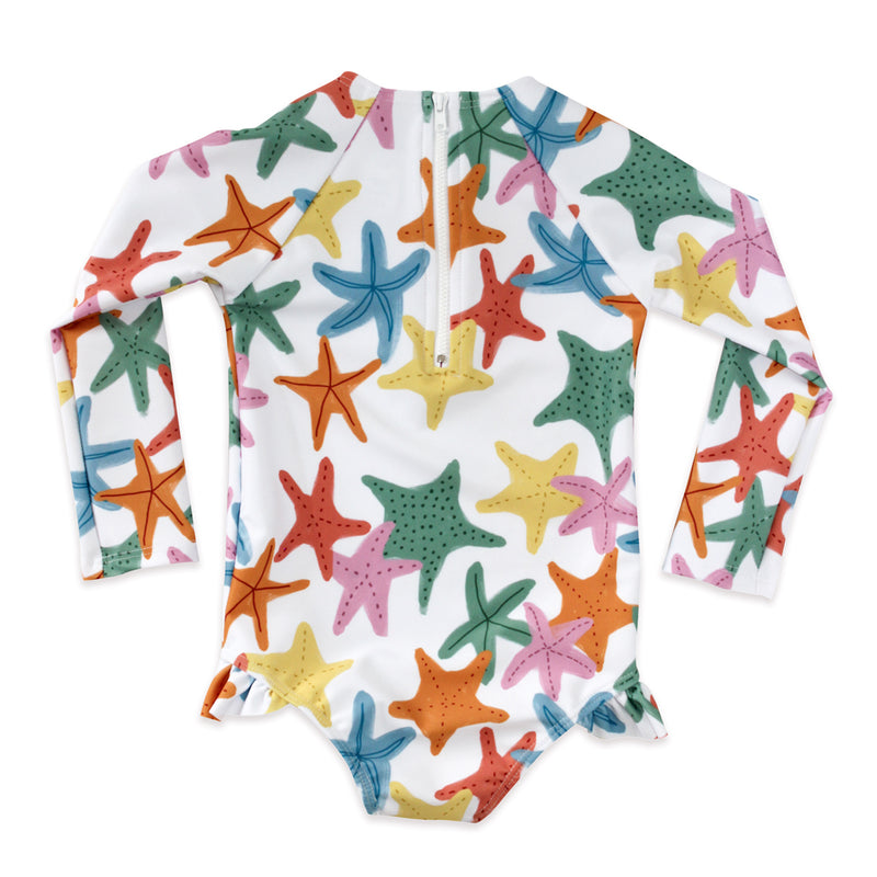 Sea Stars Rashguard One Piece