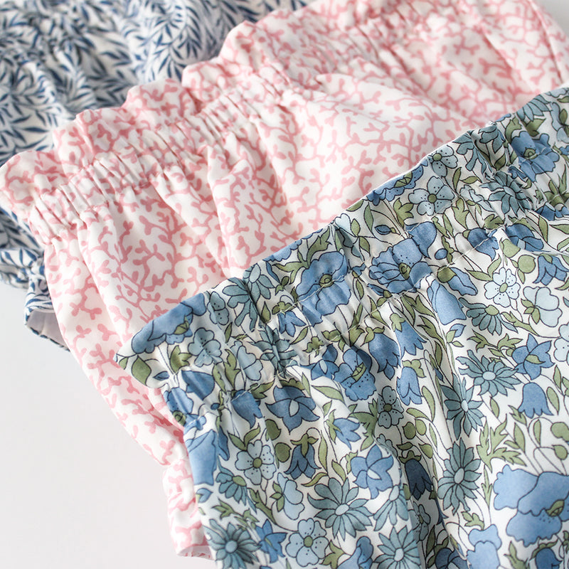 Ruffle Bloomers in Poppy & Daisy