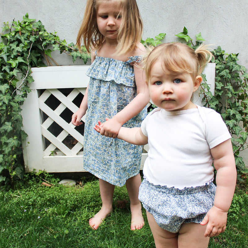 Ruffle Bloomers in Willow Wood