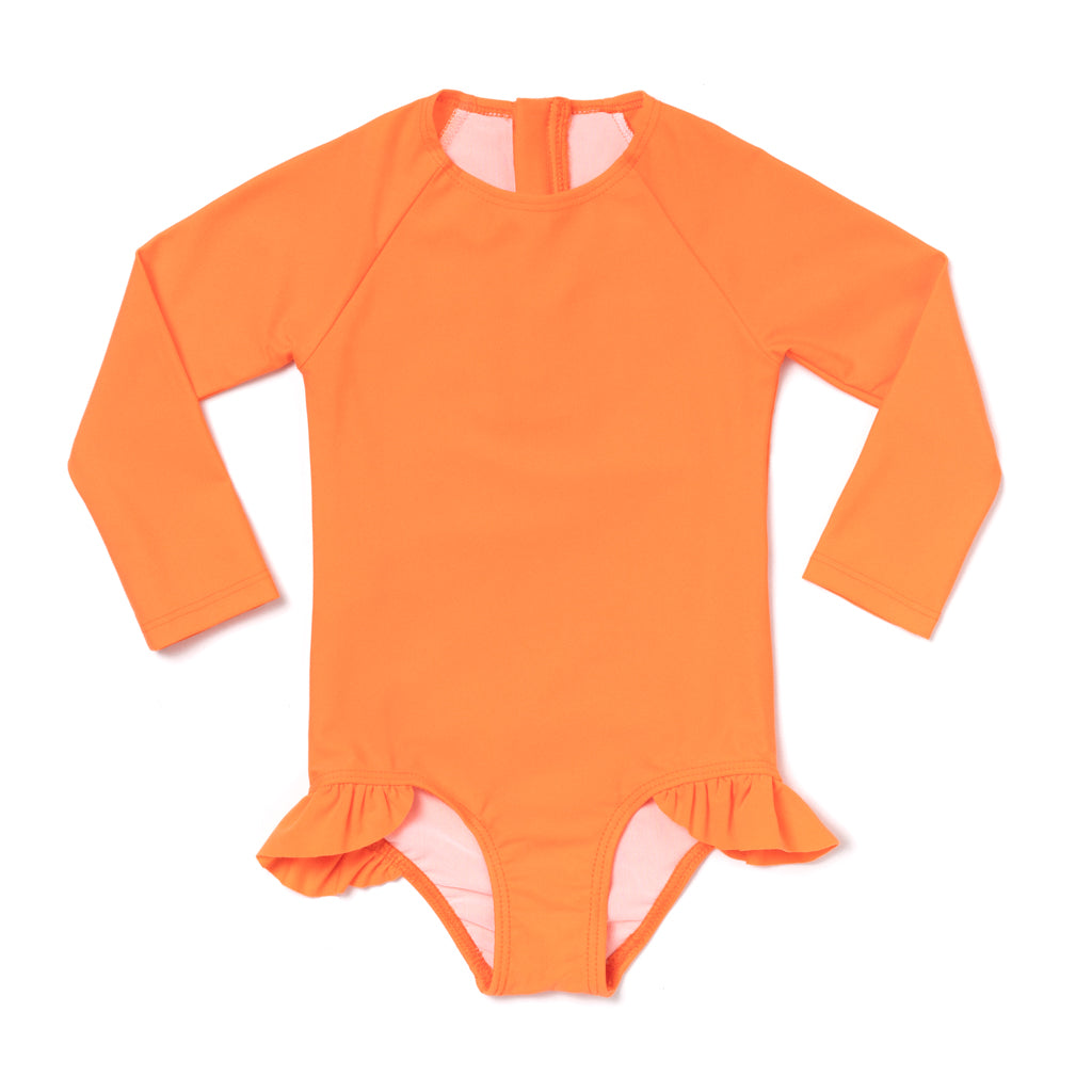 Citrus Rashguard One Piece