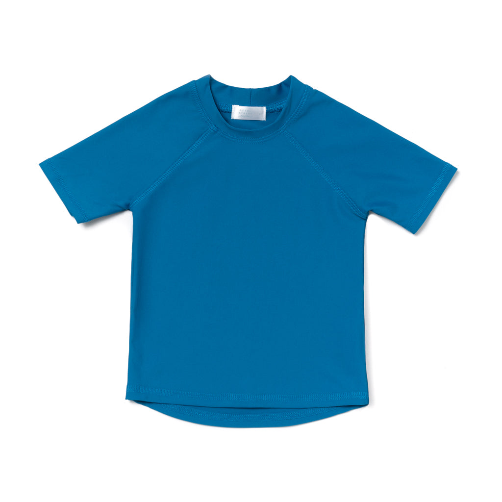 Fleet Teal Short Sleeve Rashguard