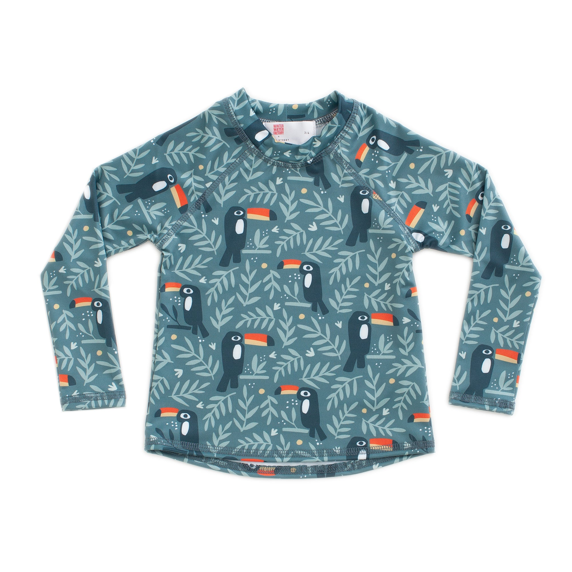 Winter Water Factory x Pearl Street Swim Toucans Original Rashguard