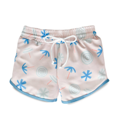 Beach Umbrellas Drawstring Trunks