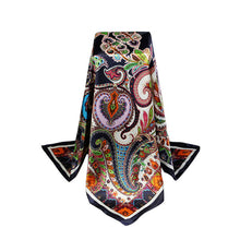Hot brand Satin Scarves Square Imitated Silk Scarf Printed For Ladies Women Scarves Polyester Shawl Hijab Foulard bufandas W1