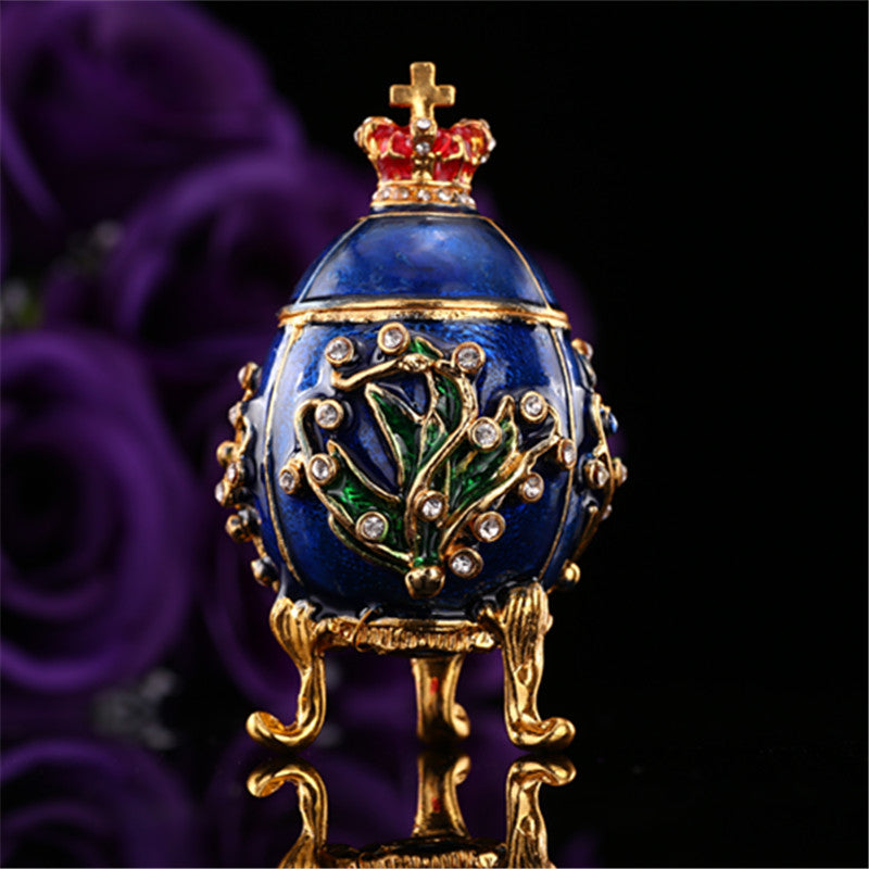 QIFU New arrive Cheap Beautiful  faberge egg home decoration