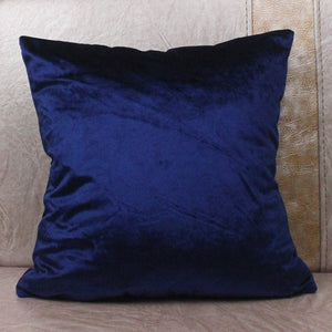 Comfortable Solid Colors Luxury Velvet Cushion Cover Custom Size Decorative Throw Pillow Covers Club Company Christmas Gifts