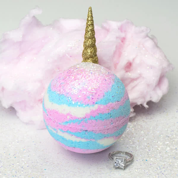 Unicorn Ring Bath Bomb