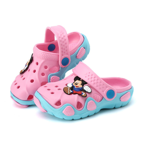 2018 New fashion children garden shoes children cartoon sandal babies summer slippers high quality kids garden children sandals