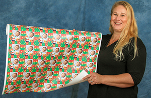Personalized Face Wrapping Paper
