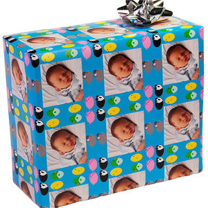 Egg Animals Custom Gift Wrapping Paper