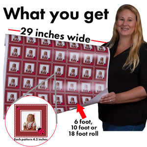 Infographic custom gift wrapping paper