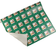 Designer birthday gift wrapping paper with baby playing with rubber ducks