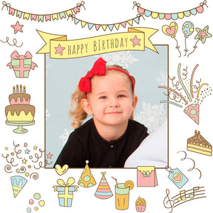 Birthday personalized gift wrapping paper
