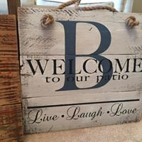 Welcome - Live, Laugh, Love