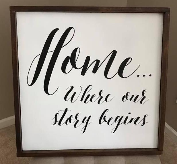 Home....where our story begins