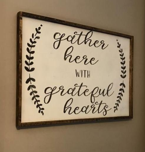 Gather here with grateful hearts (D045)