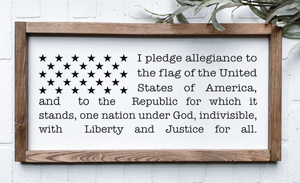 Pledge of allegiance (D275)