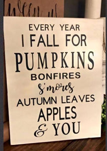 Every Year I Fall for Pumpkins...