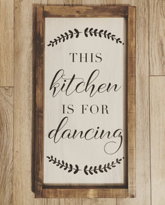 This Kitchen is for Dancing (D109)