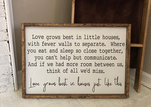 Little House Poem