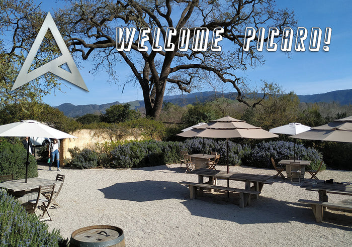 Santa Barbara Martellotto Winery Welcomes Star Trek: Picard at Sunstone Winery