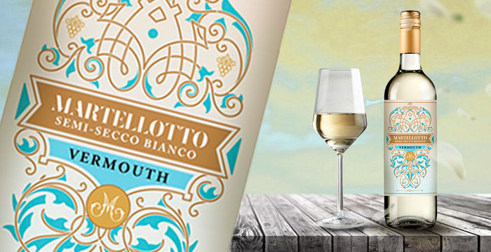 Martellotto Winery Newly Released: NV Martellotto Semi-Secco Bianco Vermouth