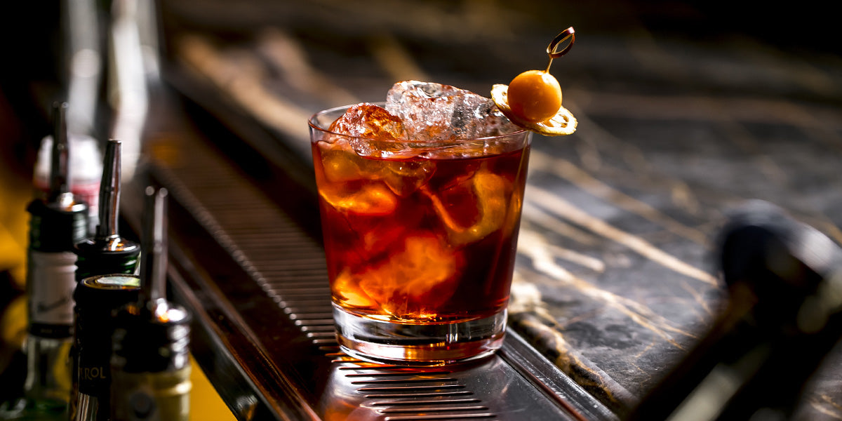 New Year's Eve Old Fashioned