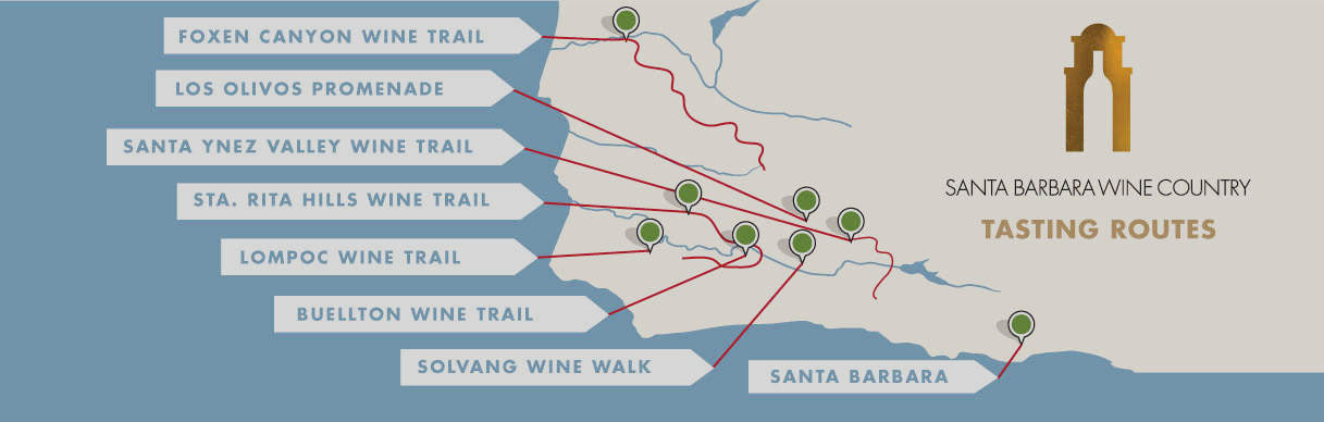 Santa Barbara Wine Routes