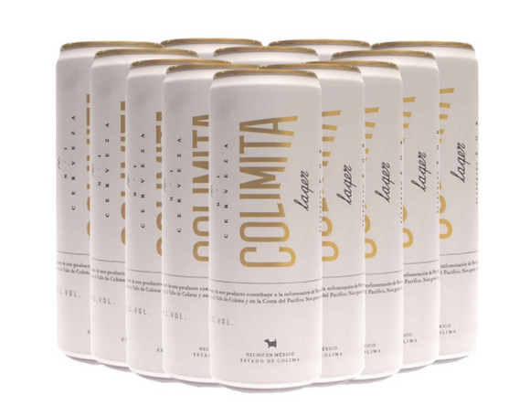 12 Pack Colimita Lager Lata 355ml