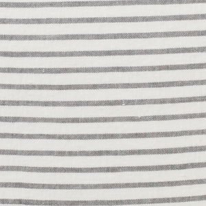Linen Cushion Cover - Stripe Stone