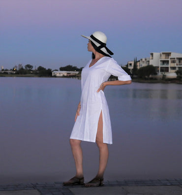 The Lady Classic Panama Hat - ON SALE -