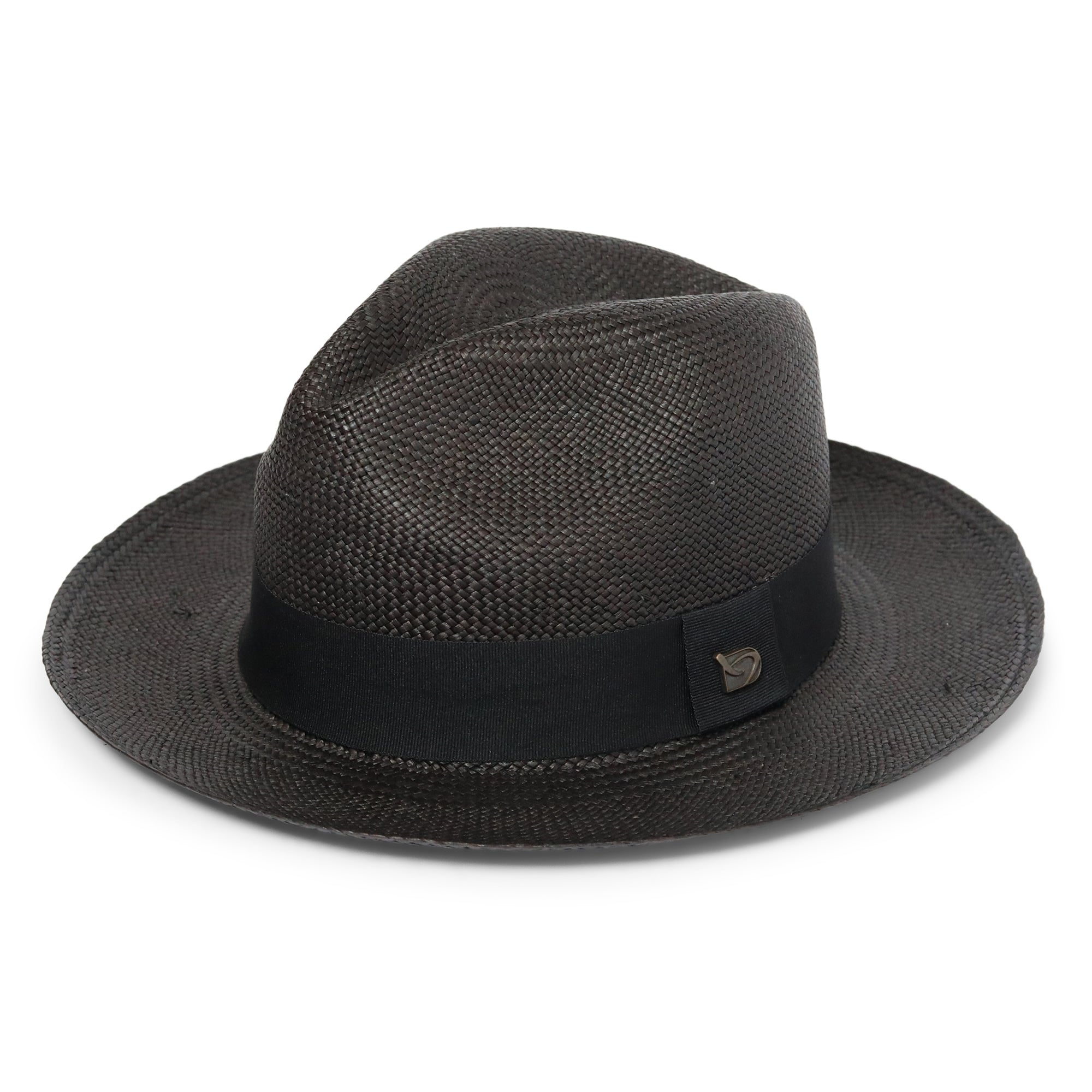 The Classic Black Panama Hat