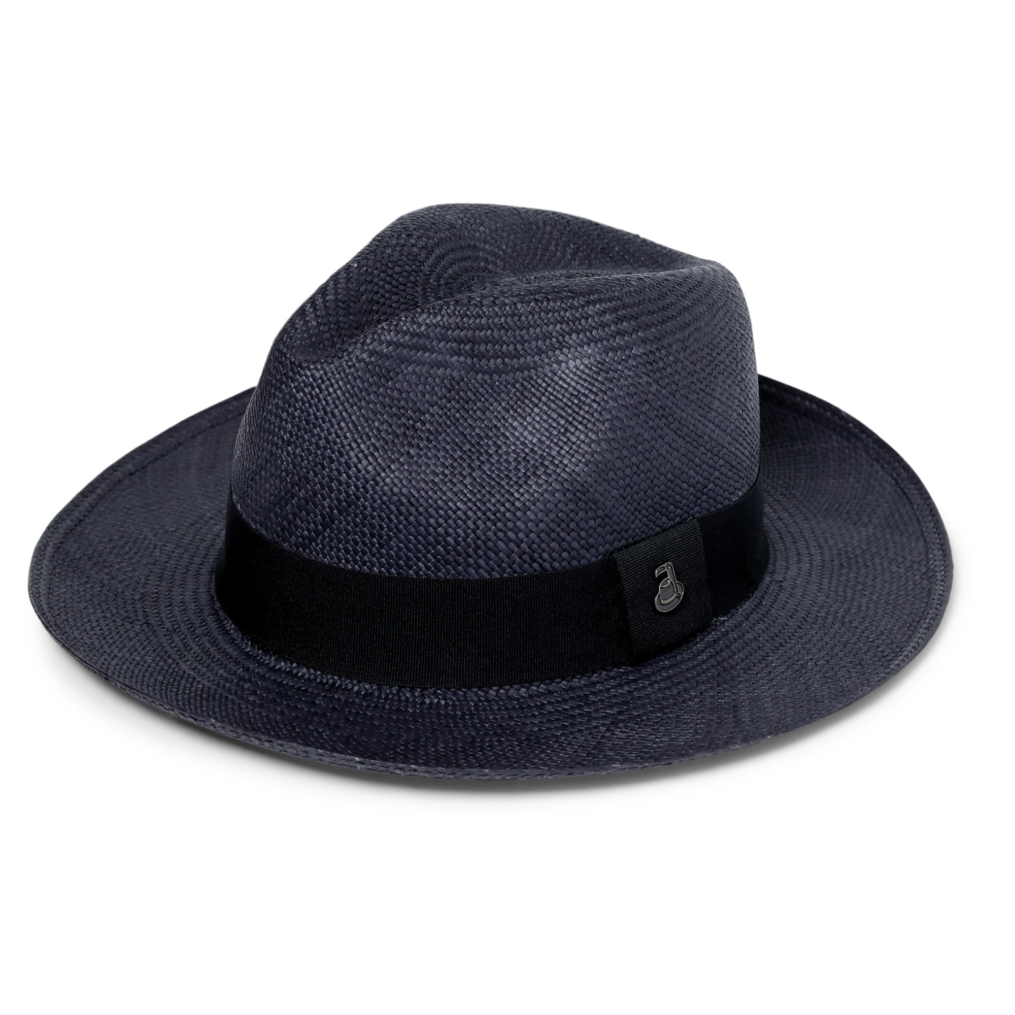 181f95ddd01 The Classic Navy Blue Panama Hat – Ecua Andino Hats