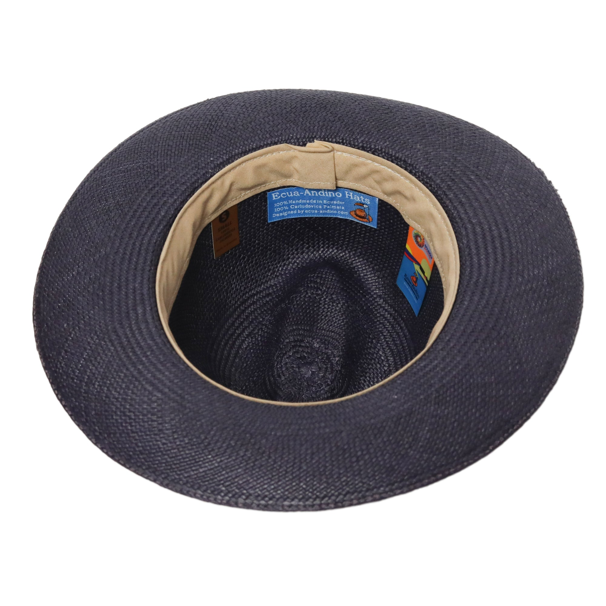 The Classic Navy Blue Panama Hat