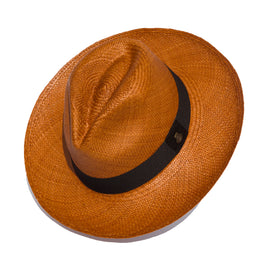 The Classic Brown Panama Hat