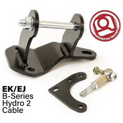 96-00 CIVIC CONVERSION RH  MOUNTING BRACKET & ACTUATOR (B-Series/Hydro 2 Cable) - Innovative Mounts