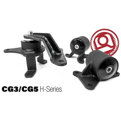 98-02 ACCORD CONVERSION ENGINE MOUNT KIT (H-Series(-97) / Manual) - Innovative Mounts
