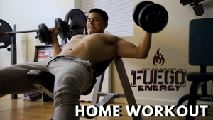 NavaTheBeast Home Military HITT Workout (Upper Body)
