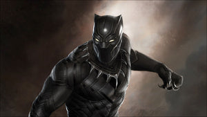 Build a body like Black Panther