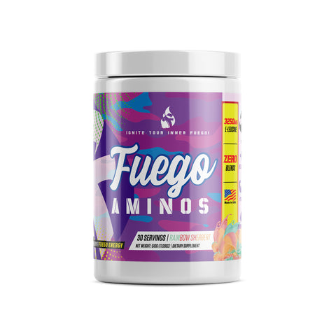 Rainbow Sherbet Fuego BCAA's (Intra-Workout Formula)