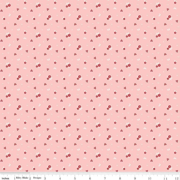 Sweet Orchard Floral Pink