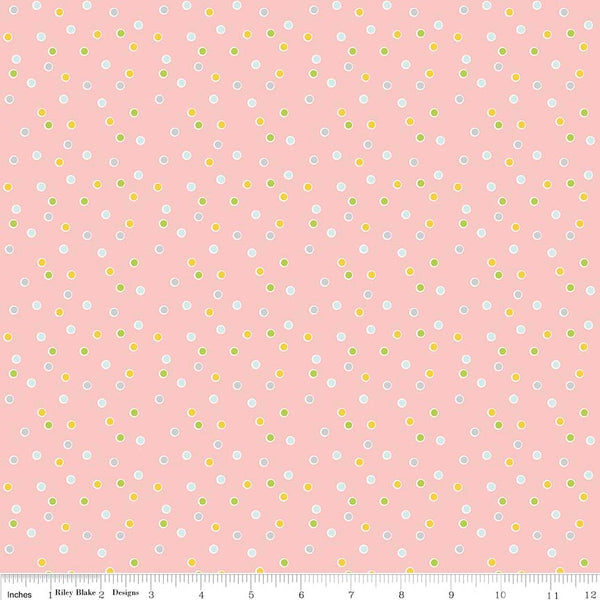 Sweet Orchard Dot Pink