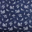 Navy Background with White Flower Bundles ~ White on Navy Blue