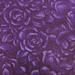 Purple Background with Tonal Roses ~ Purple on Purple